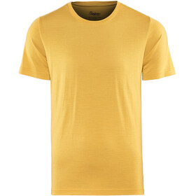 Bergans Oslo Wool Maglietta a maniche corte Uomo giallo